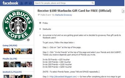 03687a2b5bb3acf71b28b2c1e0fdc685_starbucks-giftcard-facebook-scam_400x250