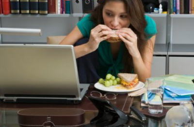 eat well work at home